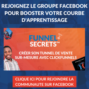 Groupe Facebook ClickFunnels